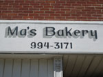 Sign-Phone-Number-Ma's-Bakery-Wedding-Catering-Bloomington-WI